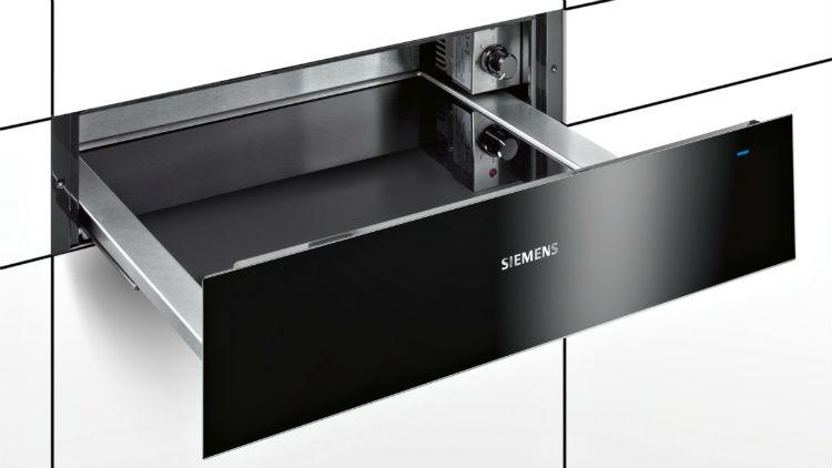 Nowa szuflada grzewcza Siemens