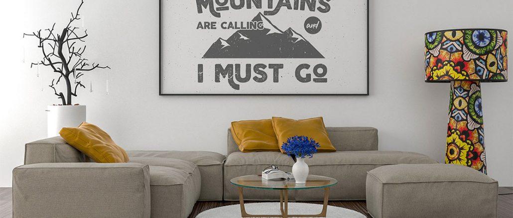 Plakaty do salonu, które całkowicie odmienią Twoje wnętrze