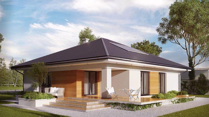 Dom parterowy - komfort dla całej rodziny